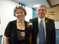 Pastor Roger and his wife Beth